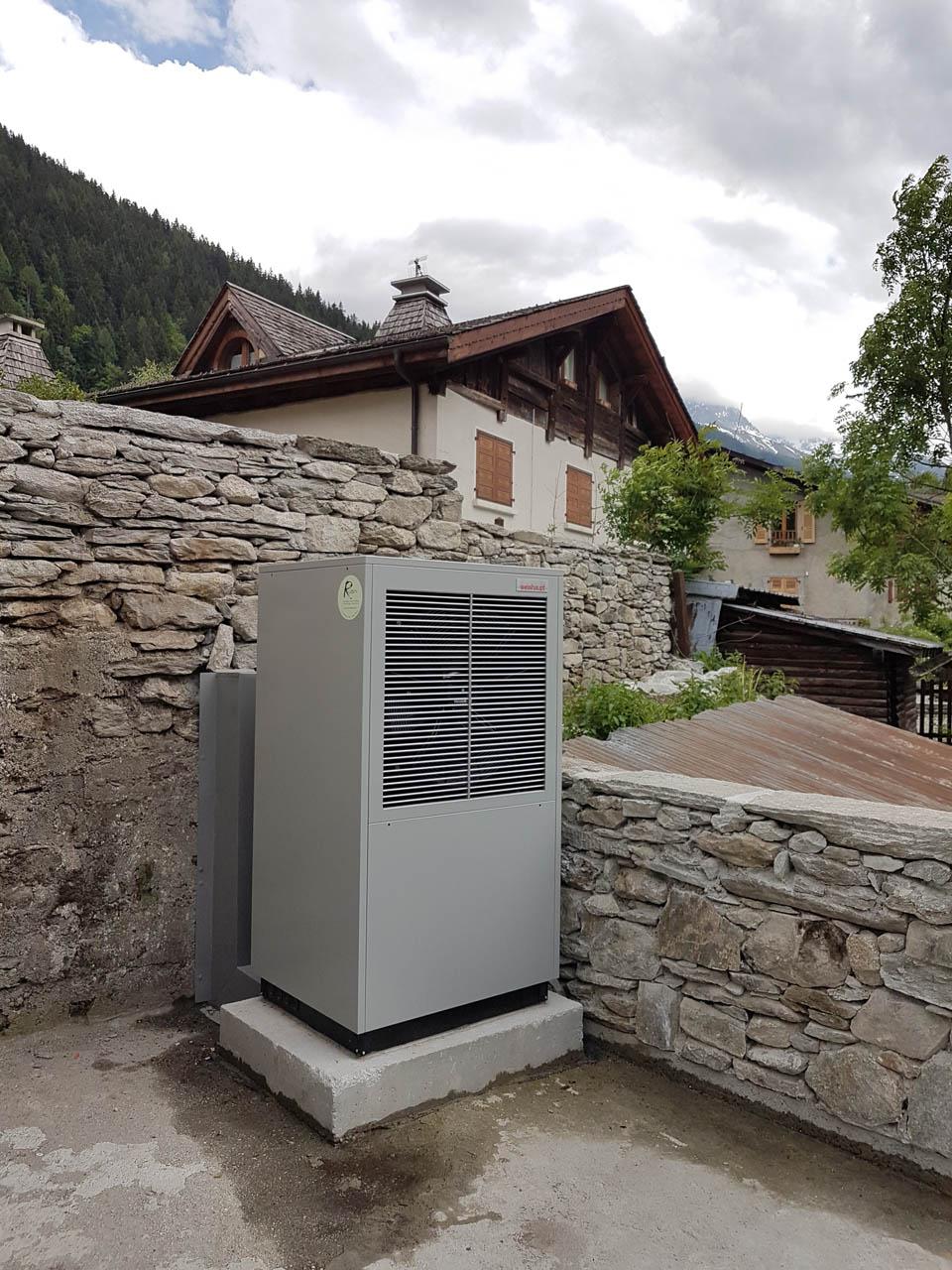 Pompe à chaleur - Energie renouvelables - Cluses Thyez Marignier Bonneville Scionzier Marnaz Vougy Haute-Savoie