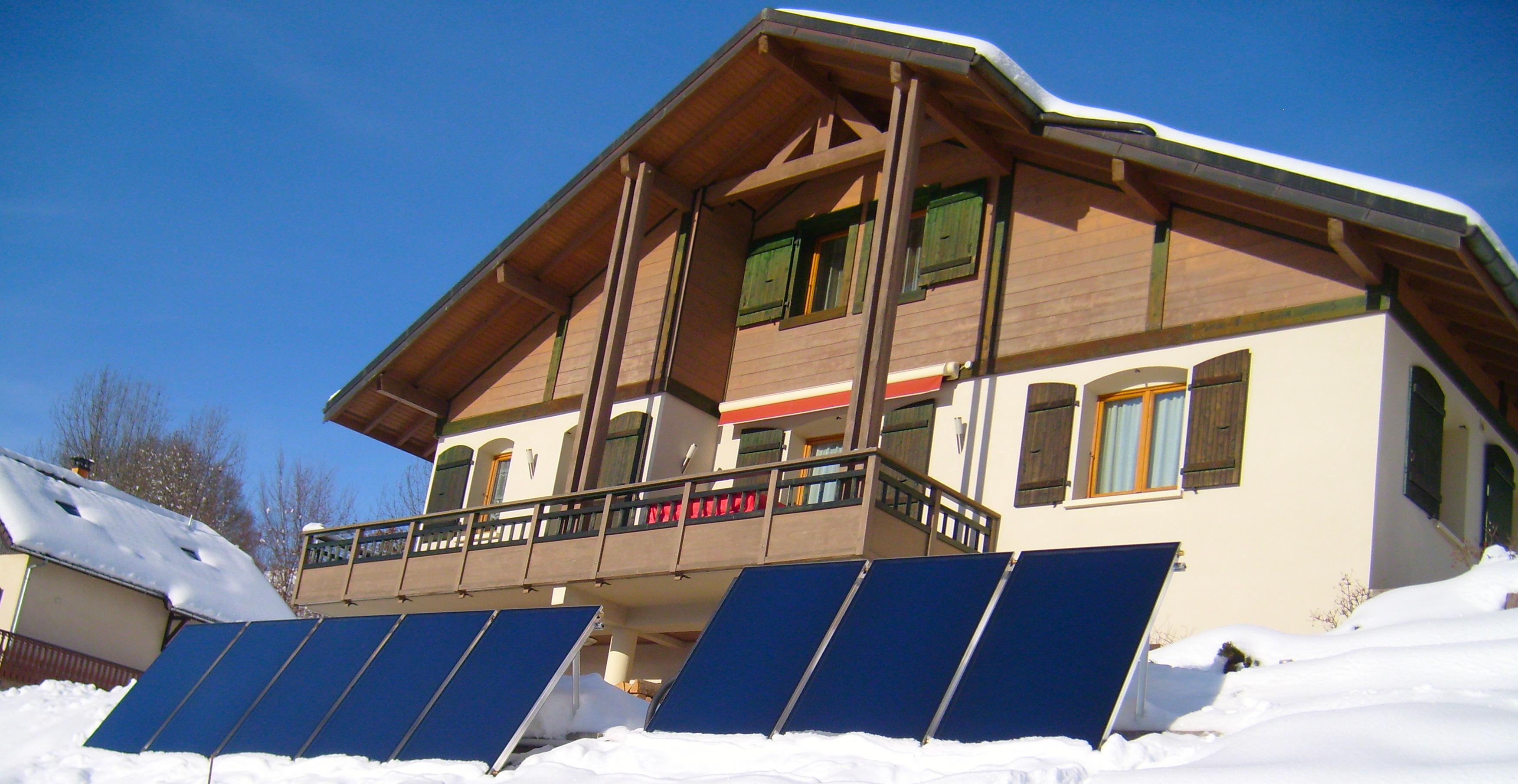 Panneaux solaire - energie renouvelables - Cluses Thyez Marignier Bonneville Scionzier Marnaz Vougy Haute-Savoie